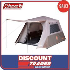 Coleman Silver Series 6 Person Instant Up Camping Tent Full Fly - 1424454