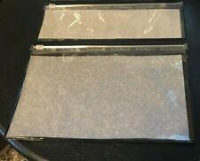 Mac Clear Bag Set (2)  Clear Travel New
