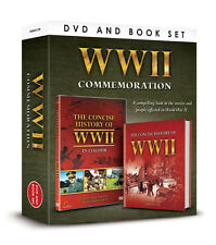 THE COMMEMORATION SET WW2 CONCISE HISTORY OF WWII IN COLOUR DVD & BOOK GIFT SET