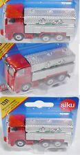 Siku Super 1331 Scania Milchsammelwagen, karminrot/silber, OVP