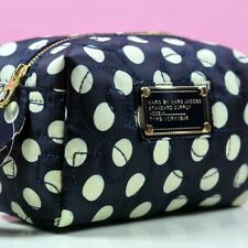 MARC BY MARC JACOBS WOMEN NYLON BLACK&WHITE DOTS CLUTCH HANDBAG COSMETIC BAG