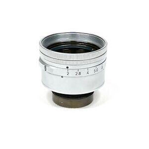 :Leica Summicron 50mm f2 DR Dual Range Lens Head & Aperture Assembly (Read)