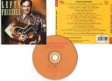 "LEFTY FRIZZELL ""Famous Country Music Makers"" (CD) 2004"