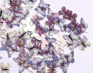 100 Pcs - Butterfly Nail Art Decorations - Nail Supplies