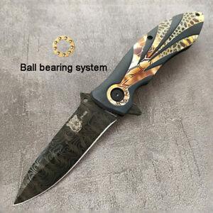 HOT !! FX008 PUMA folding 3D knife hunting pocket Camping knife COLLECTORS knife