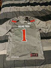 NWT Texas Tech Under Armour Jersey Size S