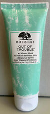 🌸ORIGINS Out of Trouble 10 Minute Mask to Rescue Skin Problem, 3.4 Oz. NEW 🌸