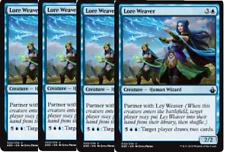 4x Lore Weaver  -NM- Battlebond MTG Blue Uncommon