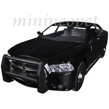 MOTORMAX 76953 2011 DODGE CHARGER PURSUIT 1/24 UNMARKED POLICE CAR BLACK