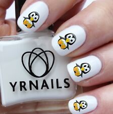 Nail WRAPS Nail Art Water Transfers Decals - Baby Penguin - S740