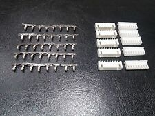 5 PAIRS - 8 Pin PCB Header and Connector 2.54mm 0.1 inch XH-4P