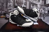 Nike Air Zoom Super Bad Black & White Football Cleats 354786-001 US 16 EU 50.5