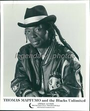 Thomas Mapfumo and the Blacks Unlimited   Anonym Records Original Music Press Ph