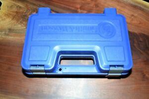 Smith & Wesson OEM 357 686-6 Genuine Factory Pistol Gun Hard Case Box Lockable