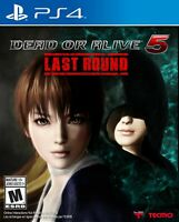 DEAD OR ALIVE 5 Last Round - PlayStation 4 [video game]