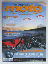 Toute la MOTO N°9 /MH 900 /MONSTER 900 injection/TRIUMPH Sprint RS-HONDA VFR 800