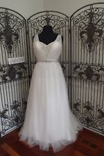 920 ALFRED ANGELO DISNEY FAIRYTALE   237W JASMINE SZ 18W IV  $1149 WEDDING DRESS
