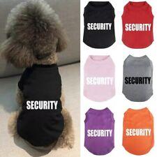 Small Medium Dog Spring Clothes Pet Puppy Costume Dog Cat Sports Apparel Vest