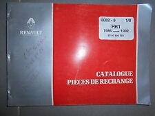 RVI Renault autocar FR1 1986 à 1992 : catalogue pièces 1/8