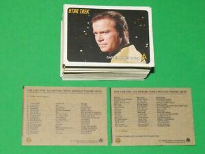 2009 STAR TREK THE ORIGINAL SERIES ARCHIVES BASE 110 CARD SET 221-330 KIRK SPOCK