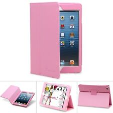 Durable Leather Cover Sleep/Wake Folio Stand Case for Apple iPad Mini 1 2 3