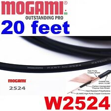 Mogami W2524 20 ft.Guitar patch Instrument cable Wire - 2524 20ft.