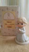 Enesco Precious Moments Take It To the Lord in Prayer Figurine 1995 163767