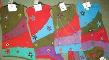 BNWT GRINGO SLEEVELESS EMBROIDERED JERSEY TUNIC TOP / DRESS HIPPY BOHO CHOICE