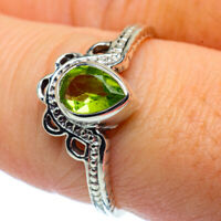 Peridot 925 Sterling Silver Ring Size 8.25 Ana Co Jewelry R37311F