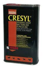 CRESYL NETTOYANT DESINFECTANT BACTERICIDE FONGICIDE 1L