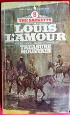 Treasure Mountain by Louis L'Amour Bantam Paperback Western Sacketts #9 1980
