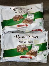 Russell Stover ~ Chocolate Pecan Delight Sugar Free Stevia 10 Oz. 2-Bags 02/2022