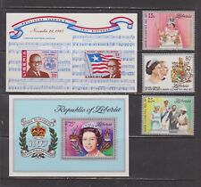 Liberia-  Lot 1587, Mint, NH. Sc# 788-90, C218.