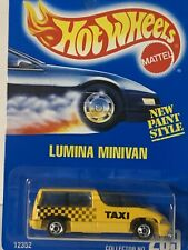 HOT WHEELS LUMINA MINIVAN YELLOW COLLECTOR#259 BW 1995