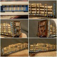 N H O SCALE TRAIN CAR ATHEARN ATLAS INTERMOUNTAIN LIONEL CUSTOM CUSTOM WEATHERED