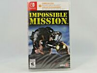 IMPOSSIBLE MISSION (NINTENDO SWITCH GAME ) No game Card included.