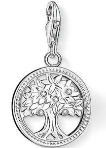 New Genuine Thomas Sabo Sterling Silver CZ set Tree of Life charm 1303 RRP £49
