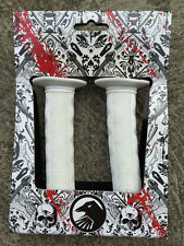 BRAND NEW THE SHADOW CONSPIRACY BMX BIKE GUTTURAL GRIPS WHITE