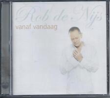 ROB DE NIJS - Vanaf vandaag CD Album 13TR (EMI) HOLLAND 2004 RARE!