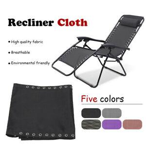 Durable Fabric Cloth For Beach Chair Recliner Outdoor Garden Sun Lounger
