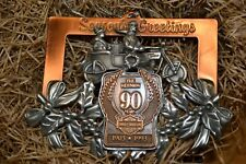 NOS Harley-Davidson 90th Anniversary Pewter Christmas Ornament #7330 of 7500