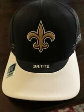 New Orleans Saints Reebok Fitted Large/XLarge Cap
