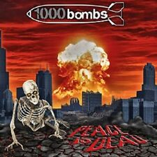 """1000 Bombs """"Peace Is Dead"""" CD [old school Thrash Metal from Czech Republic]"""