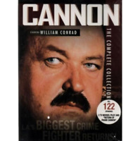 Cannon - The Complete Collection on DVD 122 Episodes Region 1 Box Set New Sealed