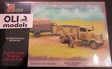 1/72 German Army Trucks (Mercedes L3000) - 2 KITS SET - Pegasus 7610