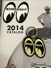 Mooneyes black eyes logo key ring rubber hot rod rockabilly 1932 1934 Ed Roth