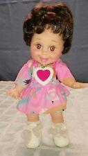 """Vintage Galoob 1990 Baby Face 13"""" Doll #3 So Happy Heidi T17"""