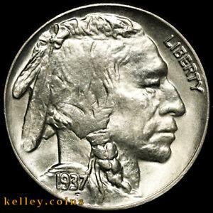 1937-D Buffalo Nickel GEM BU