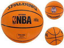 "Spalding NBA Outdoor London Live 2013 Pistons VS Knicks Basketball Size 22"""