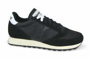 Scarpe uomo donna Saucony Jazz Original Vintage S70368 9 nero sneakers sportiva